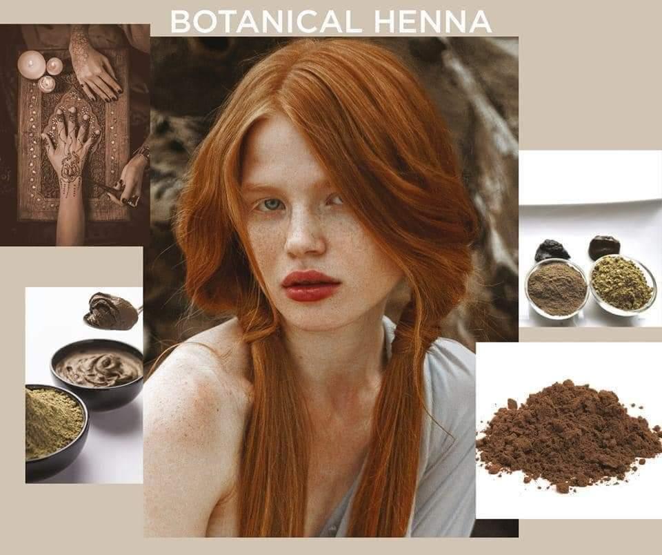 BOTANICAL HENNA, completamente natural